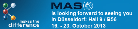 Visit MAS at the K-Show 2013